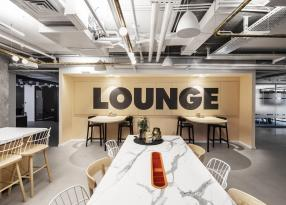 Book Lounge Area at ROOMS NYX TEL AVIV